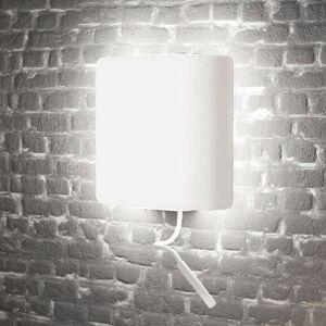 ALMA LIGHT BARCELONA LED nástěnné světlo Square se čtecím světlem, bílá