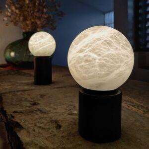 ALMA LIGHT BARCELONA LED stolní lampa Tribeca, USB port, 20 cm černá
