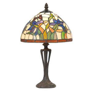 Artistar Stolní lampa Elanda v Tiffany stylu, 40 cm