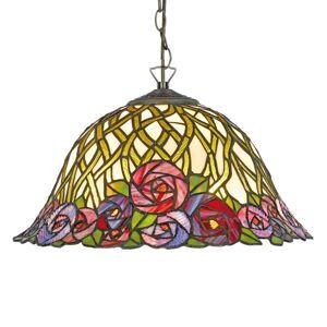 Artistar Závěsné světlo Melika ve stylu Tiffany, 2 zdroje