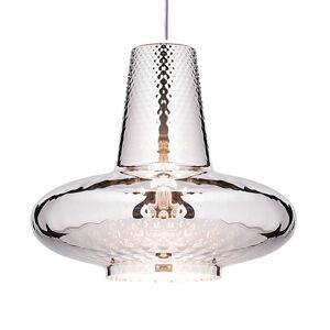 Ailati Závěsné světlo Giulietta 130 cm stříbrná metalíza