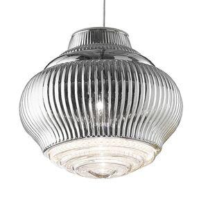 Ailati Závěsné světlo Bonnie 130 cm stříbrná metalíza