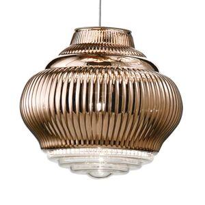 Ailati Závěsné světlo Bonnie 130 cm bronzová metalíza