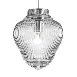 Ailati Závěsné světlo Clyde 130 cm průhledné