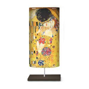 Artempo Italia Umělecký motiv na stojací lampě Klimt III