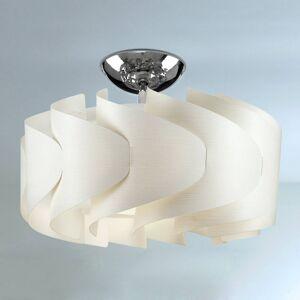 Artempo Italia Stropní světlo Sky Mini Ellix, vzhled bílého dřeva