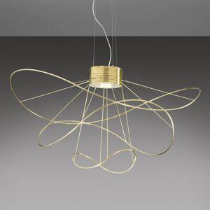 Axo Light Axolight Hoops 3 LED závěsné světlo, zlatá