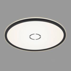 Briloner LED stropní svítidlo Free Ø 42 cm černá