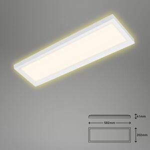 Briloner LED stropní světlo 7365, 58 x 20 cm, bílá