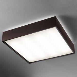 B.lux LED stropní svítidlo Quadrat C 60 x 60 wenge