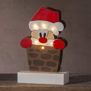 STAR TRADING LED dekorativní světlo Freddy Santa Claus