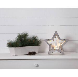 STAR TRADING Fauna LED dekorativní světlo ze dřeva, výška 24 cm