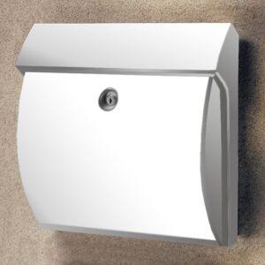 Burgwächter Classico plastová poštovní schránka, bílá