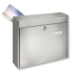 Burgwächter Plotová poštovní schránka Borkum z nerezu