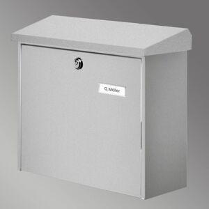Burgwächter COMFORT poštovní schránka, stříbrná