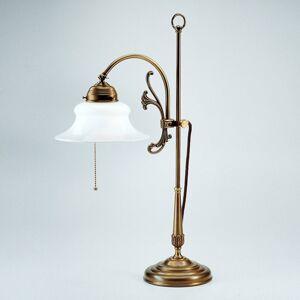 Berliner Messinglamp Filigránová stolní lampa Elisabeth
