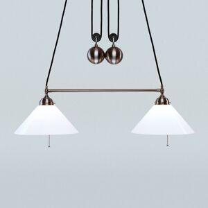 Berliner Messinglamp Výškově nastavitelné závěsné světlo Emma