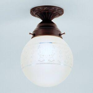 Berliner Messinglamp Jack - ručně zhotovené stropní světlo
