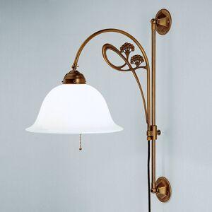 Berliner Messinglamp Filigránové nástěnné světlo Athen