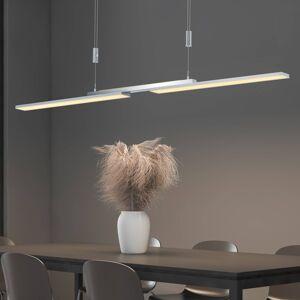 B-Leuchten B-Leuchten Less LED závěsné světlo, nikl matný