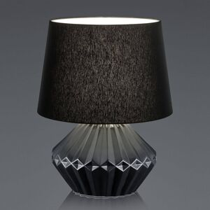 B-Leuchten B-Leuchten Kera stolní lampa, textil 46cm