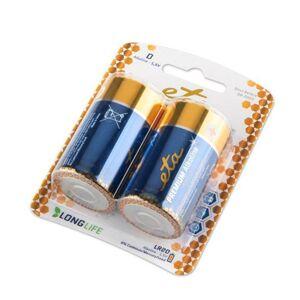 Baterie alkalická ETA PREMIUM ALKALINE D, LR20, 2ks Eta ETAR20PREM2