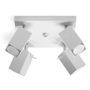 Stropní bodové osvětlení MERIDA 4, 4xGU10, 40W, bílé Sollux lighting MERIDA 4 SL.0098