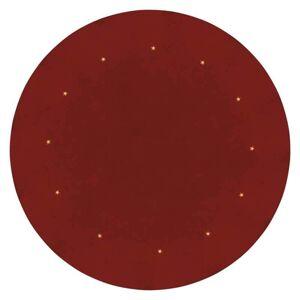 LED podložka pod vánoční stromeček s časovačem a průměrem 1m, červená Emos ZY2266