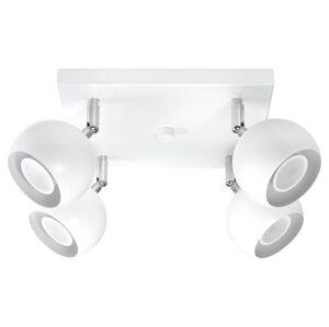 Stropní bodové osvětlení OCULARE 4, 4xGU10, 6W, bílé Sollux lighting OCULARE 4 SL.0440