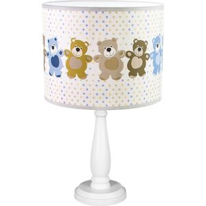 Stolní dětská lampička TINA2, 1xE27, 60W, medvídci Hellux TINA2 410.31.07