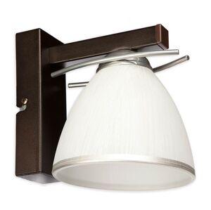 Nástěnné moderní osvětlení NATIVO CRW, 1xE27, 60W, hnědé Loreo NATIVO CRW