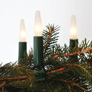 Vánoční řetěz ASTERIA, 16 žárovek, bílé světlo, 10,5m Exihand ASTERIA 162011