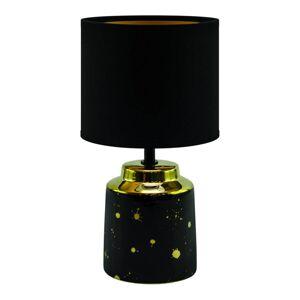 Moderní stolní lampa HELENA, 1xE14, 25W, černá S.t.r. HELENA 03788
