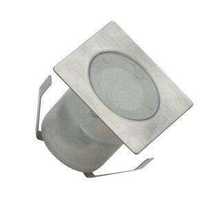 LED venkovní zápustné svítidlo NEDES 2, 0,6W, 40lm, čtvercové, teplá bílá Nedes NEDES 2 LFL112S