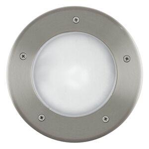 Venkovní osvětlení do země RIGA 3, stříbrné, 17cm Eglo RIGA 3 86189