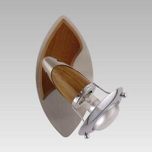 Nástěnné / stropní bodové svítidlo ZEUS, tmavě hnědé Prezent ZEUS NS/CH/DW 362