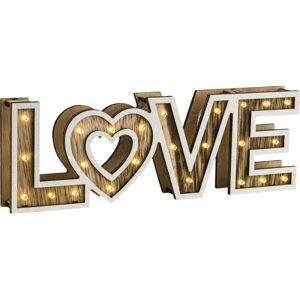 Dekorativní LED osvětlení LOVE Globo LOVE 29976