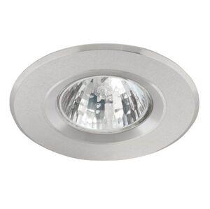 Vestavné stropní osvětlení PALEON, 1xGX5,3, 50W, 8cm, kulaté, stříbrné K.l.x. PALEON