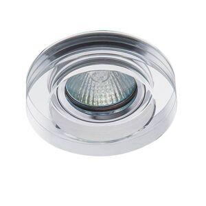 Vestavné bodové osvětlení FEDO, 1xGX5,3, 50W, 9cm, kulaté, stříbrné K.l.x. FEDO