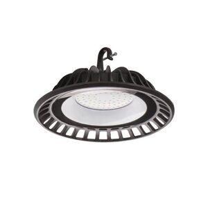Stropní LED High Bay osvětlení DACADO, 50W, denní bílá, 24cm, kulaté, černé, IP65 K.l.x. DACADO
