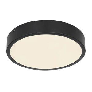 Stropní LED přisazené osvětlení LUCENA, 22W, denní bílá, 170mm, kulaté, černé Globo LUCENA 12368-22
