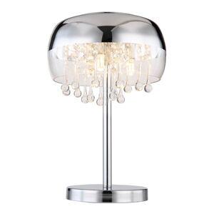 Stolní designová lampa KALLA, 3xG9, 28W, chromovaná Globo KALLA 15837T