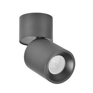 Stropní / nástěnné bodové osvětlení DALLAS, 1xGU10, 50W, černé Plx DALLAS