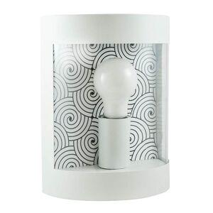 Venkovní nástěnné osvětlení SHERBROOKE, 1xE27, 60W, bílé Plx SHERBROOKE