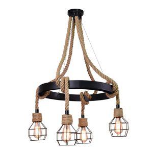 Závěsné osvětlení CHULA VISTA, 4xE27, 60W Plx CHULA VISTA