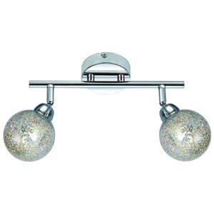 Nástěnné / stropní LED designové bodové osvětlení POMEZIA, 2xG9, 4W, teplá bílá Clx