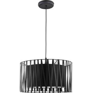 Závěsné osvětlení na lanku MASSIMO, černý Tlg MASSIMO