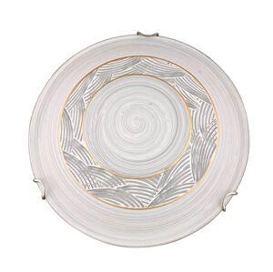 Nástěnné / stropní osvětlení CORUNA, 1xE27, 60W, 30cm, kulaté Clx