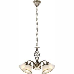 Rustikální závěsný lustr na řetězu ODIN Globo ODIN 60208-5