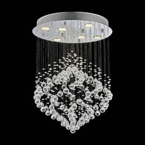 Moderní křišťálový lustr CHESTER Luxera CHESTER 62412